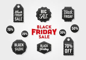 Fond de vecteur Black Friday gratuit