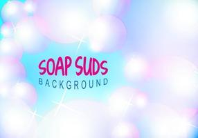Soap Suds Bubbles Background Vector Illustration Free