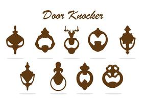 GRATIS DÖRR KNOCKER VECTOR