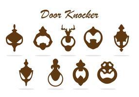 DOOR KNOCKER VECTOR