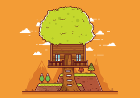 Free Treehouse Vector