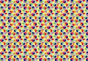 Fondo geométrico colorido del vector