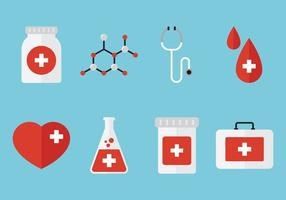 Medisch plat pictogram