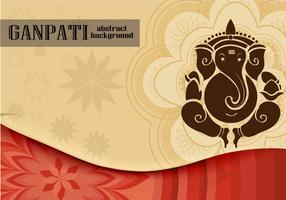 Ganpati Background vector