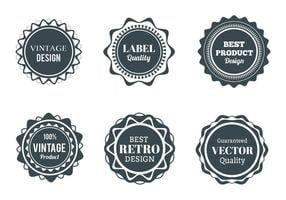 Gratis Vector Wappen, Etiketten En Badges Set