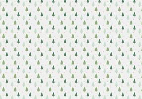 Pine Trees Pattern Background