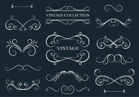 Gratis Vector Acanthus och Decor Elements