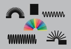 Slinky vektor pack
