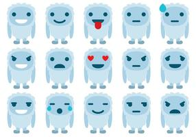 Emoticones de Yeti
