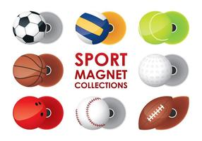 Collections d'aimants sportifs