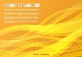 Vector Background With Yellow Waves