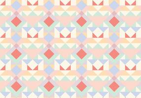 Pastel Geometrisch Abstract Patroon