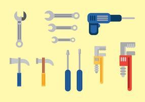 Vecteurs d'outils gratuits