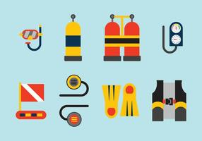 Free Vector Diving Elements