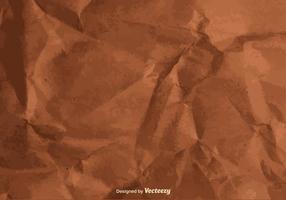Textura vetorial de um papel amassado