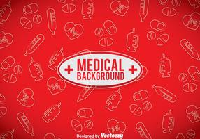 Medical Red Background