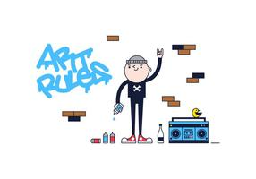 Gratis Graffiti Vector