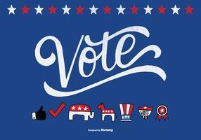 Elementos políticos vectoriales