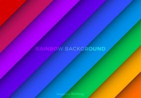 Gratis Vector Rainbow Bakgrund