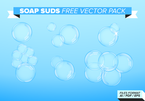 Soap Suds Free Vector Pack