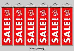 Hanging Sale Banners