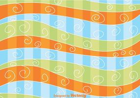 Fundo da onda Swirly