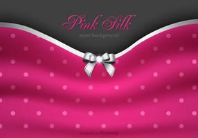 Vector Pink Silk Background