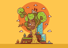 Free-treehouse-vector