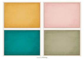 Subtle Vintage Texture Background Set