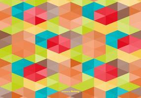 Multicolor Fondo de estilo abstracto de vectores