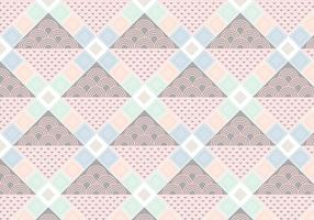 Diamond Shape Pattern vector