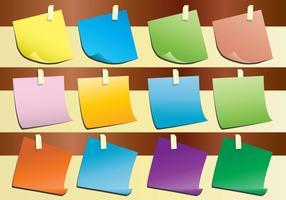 Vecteurs papier papier flip