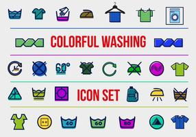 Free Washing Vector Icons