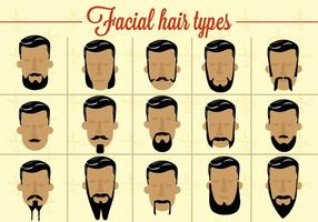 Free Facial Hair Vector