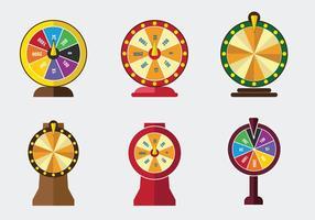 Vetor de jogo de spin sortudo