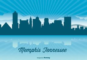 Tennessee Skyline Illustration