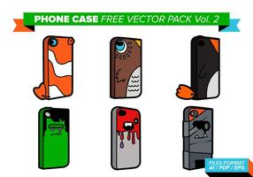 Telefoon Geval Gratis Vector Pack Vol. 2