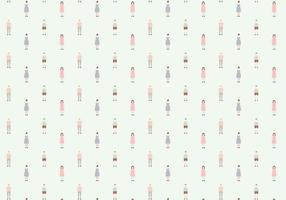 Vector Character Pattern