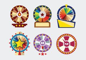Spinning Wheel Template Vector