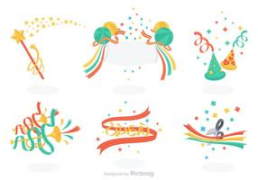 Free Celebration Vector Set