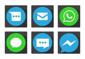 Message Vector Icons