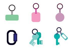 Schlüsselhalter Vektor