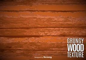 Textura de madeira envelhecida em vetor