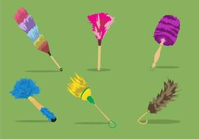 Colorful Feather Duster