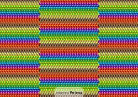 Contexte cubique coloré