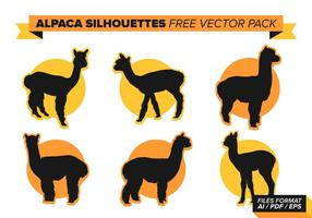 Alpaca fri vektor pack