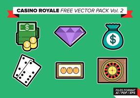 Casino royale pack vectoriel gratuit vol. 2