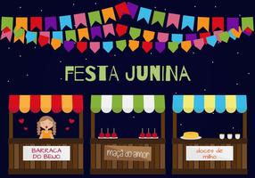 Fiesta junina vector
