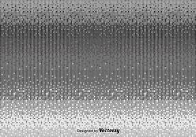 Sfondo grigio pixel vettoriale