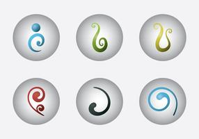 Gratis Koru Vector Icon